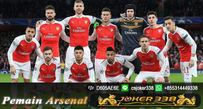 Daftar Skuad Arsenal 2017-2018