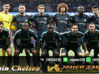 Daftar Skuad Chelsea 2017-2018