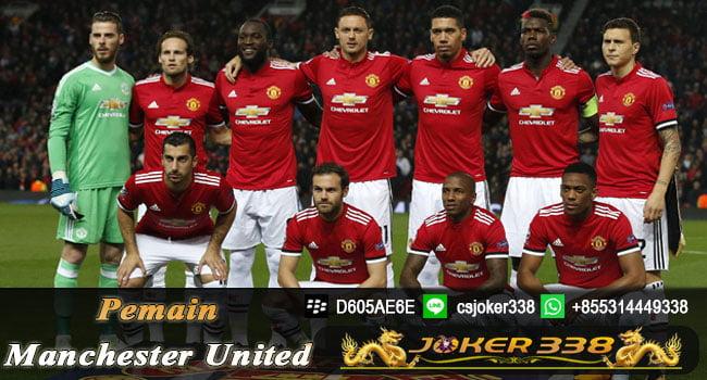 Daftar Skuad Manchester United 2017-2018